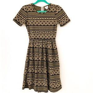 LulaRoe Tribal Print Dress